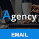 Free Download Agency - Responsive Email Template Nulled