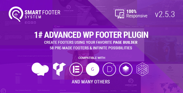 Smart Footer System - Footer Plugin for Wordpress - CodeCanyon Item for Sale