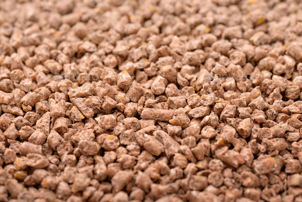 Animals compound feed pellets - Stock Photo - Images
