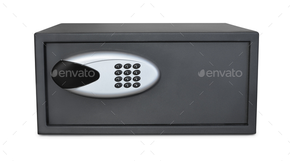 Small digital safe - Stock Photo - Images