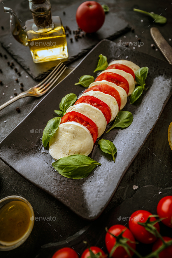 Healthy italian food - Stock Photo - Images