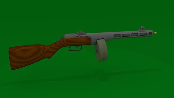 pistol-gun Shpagina