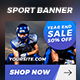 21 Sport Banner Ads - GraphicRiver Item for Sale