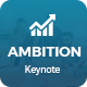 Ambition - Multipurpose Keynote Template - GraphicRiver Item for Sale