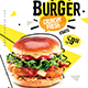 Burger Food Flyer Flyer - GraphicRiver Item for Sale