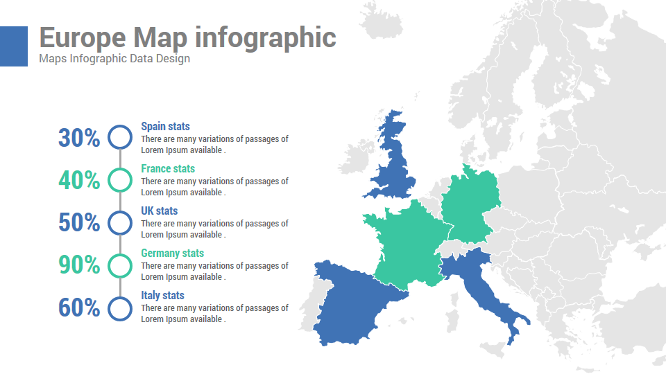 Map Of Uk For Powerpoint.Concept Company Profile And Business Proposal Powerpoint Templates