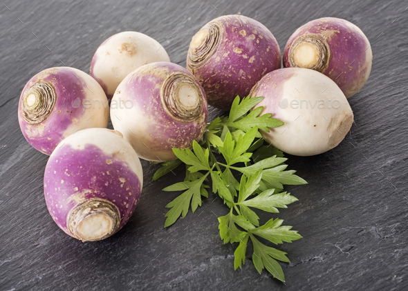 turnip in studio - Stock Photo - Images