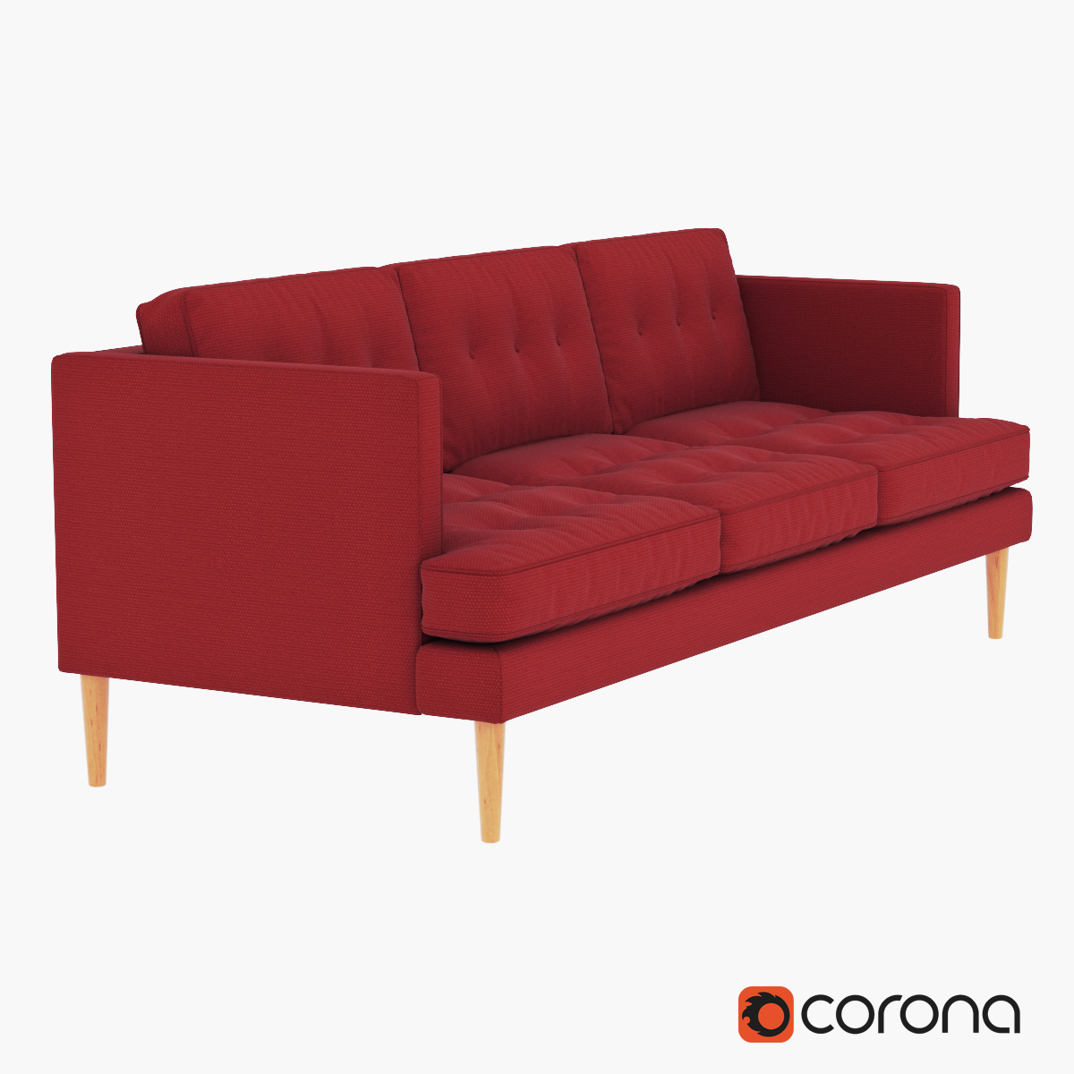 Peggy Mid-Century Sofa