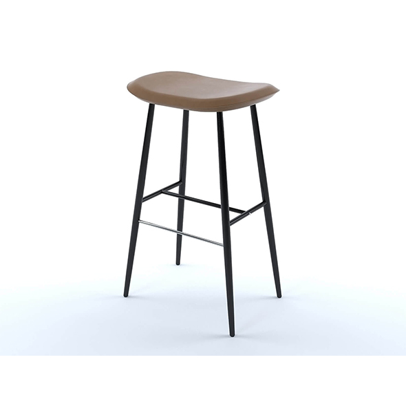 Hunt bar stool - 3DOcean Item for Sale