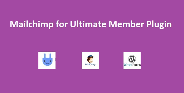 Ultimate Member Mailchimp Wordpress Plugin - CodeCanyon Item for Sale