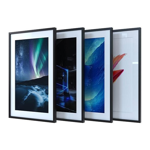 Framed pictures - 3DOcean Item for Sale