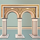 Column Gate - 3DOcean Item for Sale