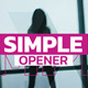 Simple Opener - VideoHive Item for Sale