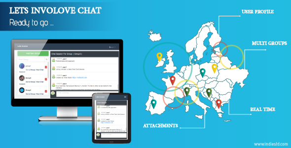 Lets Involve Real Time Chat Session            Nulled