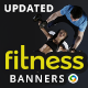 Fitness Banners - UPDATED!