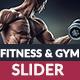 Gym & Fitness Slider - GraphicRiver Item for Sale