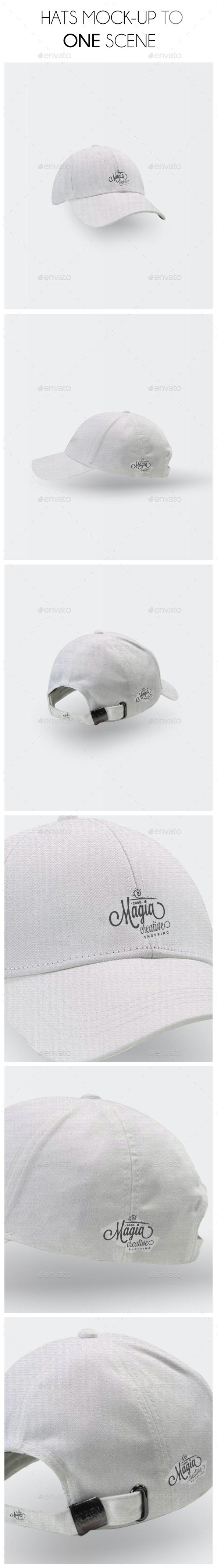 Hats Mockup Scene - Miscellaneous Apparel