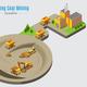 Isometric Coal Mining Concept