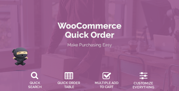 WooCommerce Quick Order            Nulled
