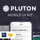 Pluton. Mobile UI Kit - GraphicRiver Item for Sale