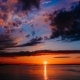 Pink Sunset on the Seashore - VideoHive Item for Sale