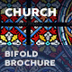 Church Bifold / Halffold Brochure 3 - GraphicRiver Item for Sale