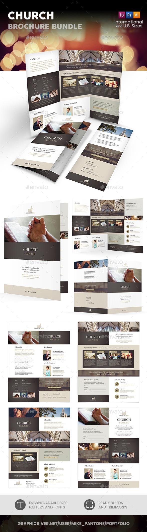 Church Print Bundle 4 - Informational Brochures