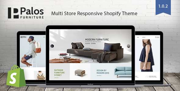 Image of Palos - Multi Store Responsive Shopify Theme