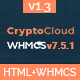 CryptoCloud | Multipurpose Hosting and WHMCS Template - ThemeForest Item for Sale