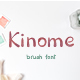 Kinome - brush font - GraphicRiver Item for Sale