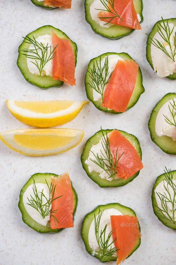Summer party healthy snack, decorative - Stock Photo - Images