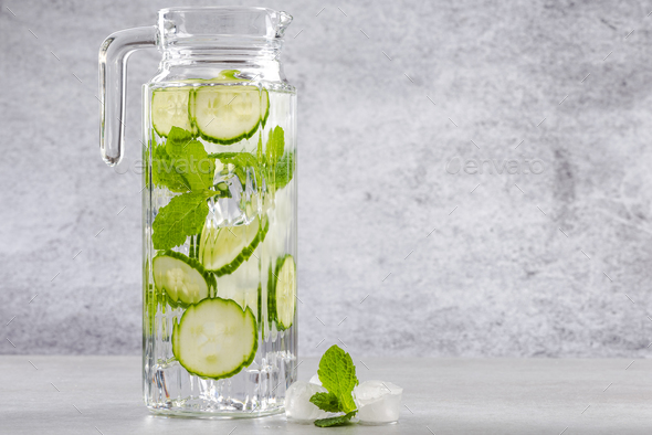 Resfreshing and healthy summer drink - Stock Photo - Images