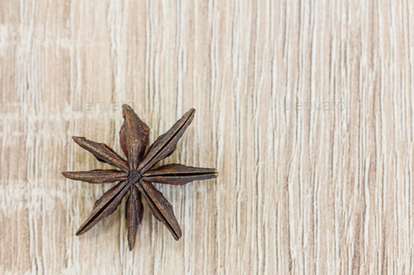 Close up Star anise seed-6 - Stock Photo - Images