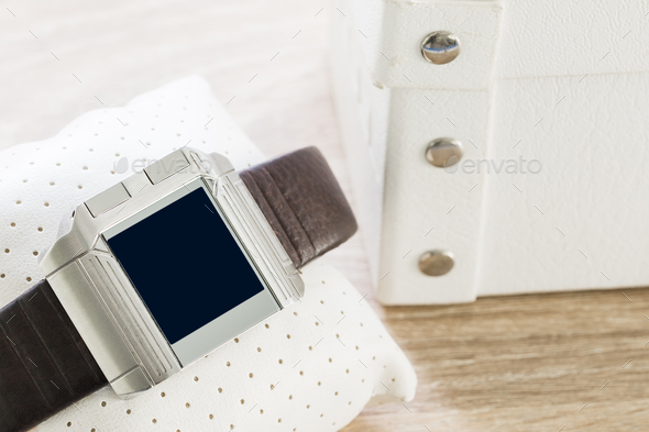 Touch screen smart watches - Stock Photo - Images