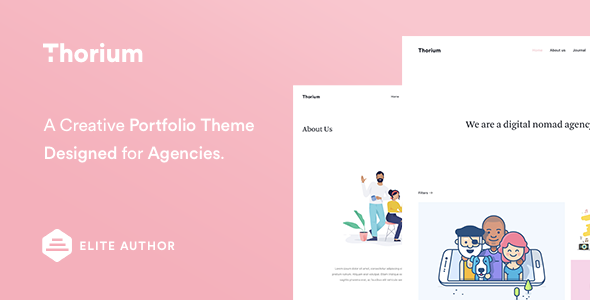 Thorium - Portfolio for Freelancers and Agencies
