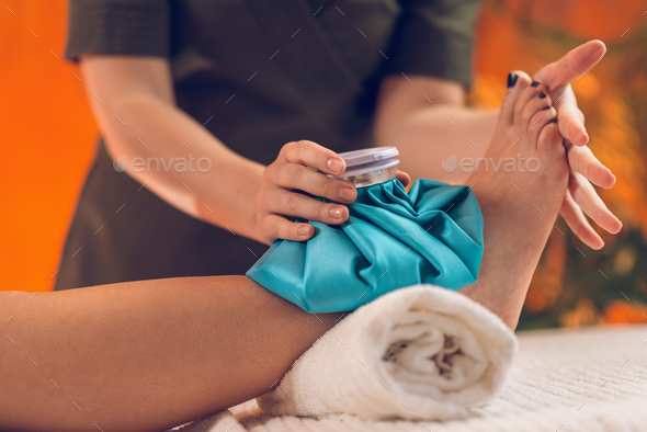 Ankle Pain - Stock Photo - Images