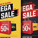 Mega Sale / Black Friday Sale Flyer - GraphicRiver Item for Sale