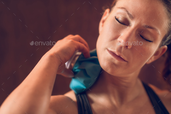 Neck Pain - Stock Photo - Images
