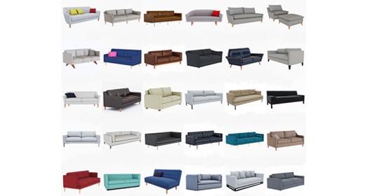 West Elm Sofa collection