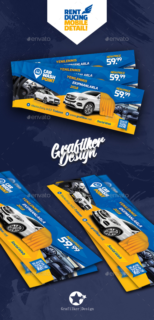Car Wash Cover Templates - Facebook Timeline Covers Social Media
