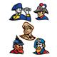 Generals, Admirals and Emperor Mascot Collection - GraphicRiver Item for Sale