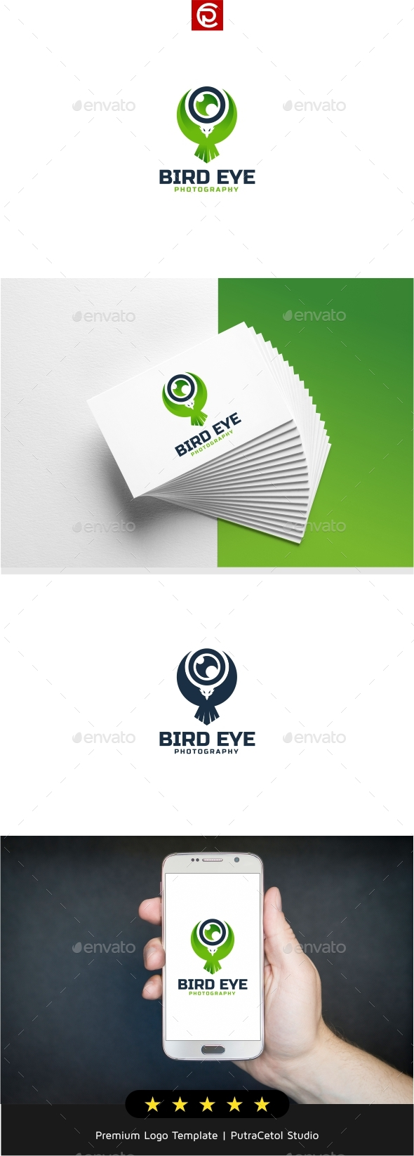 Bird Eye Photography Logo - Symbols Logo Templates