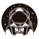 Astronaut Space Logo Template - GraphicRiver Item for Sale
