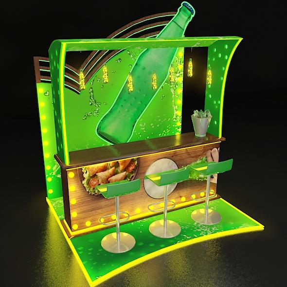 Bar Kiosk - 3DOcean Item for Sale