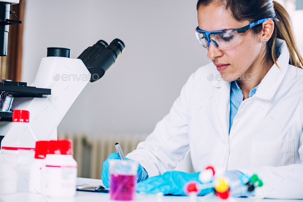 Biotechnology research - Stock Photo - Images