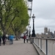 A Sidewalk on the Embankment in London - VideoHive Item for Sale