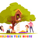 Children Tree House Cartoon Illustration - GraphicRiver Item for Sale