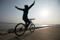 Cycling with arms outstretched - PhotoDune Item for Sale