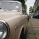 Retro Car on a Street with Residential Houses, London - VideoHive Item for Sale