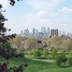 City From a Hill in the Park, London - VideoHive Item for Sale